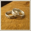 Hammered-silver-recycled-wedding-bands-for-the-groom-mens-jewelry.square