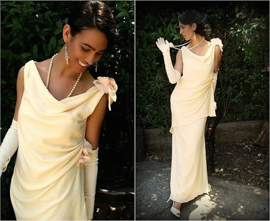 Bride Chic Vintage Inspired Dress