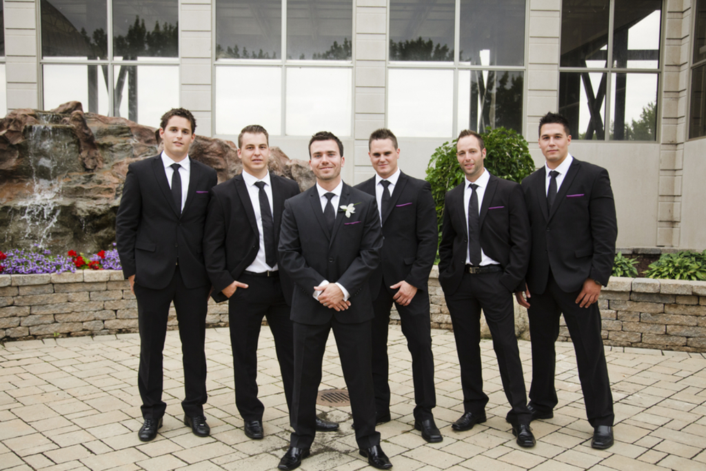 Black Suits on OneWed