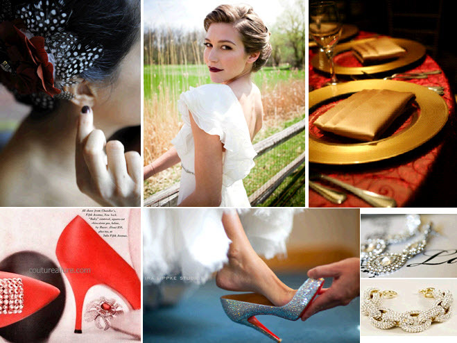 Sports-themed-inspired-wedding-hockey-chicago-blackhawks-black-white-red-gold-bridal-style-jewelry-shoes-accessories.full