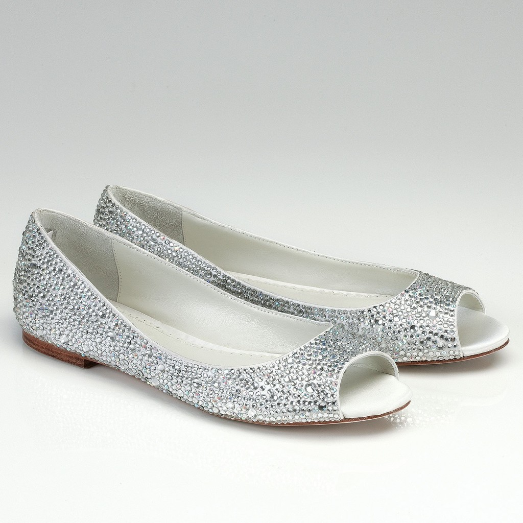Metallic Vintage Chic BHLDN Bridal Clutch Wedding Dress And Heels