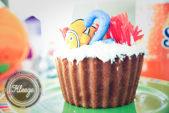 Finding Nemo Themed Cake