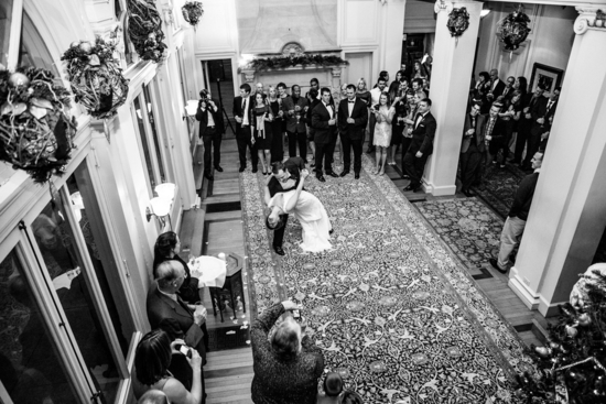Lovely First Dance in a Historic Estate Venue