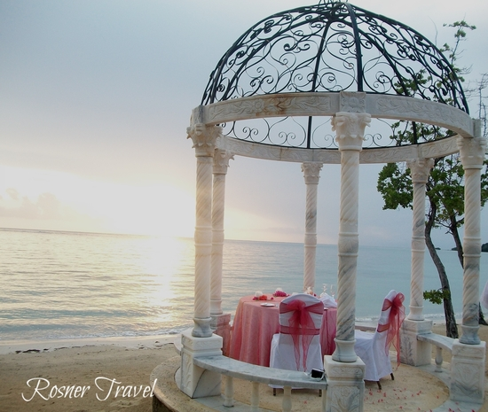 Sandals Whitehouse Sunset Beach-side Romantic Dinner WM