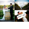 Bride-and-groom-light-unity-candle-at-outdoor-wedding-ceremony-at-winery-thank-you-signs.square