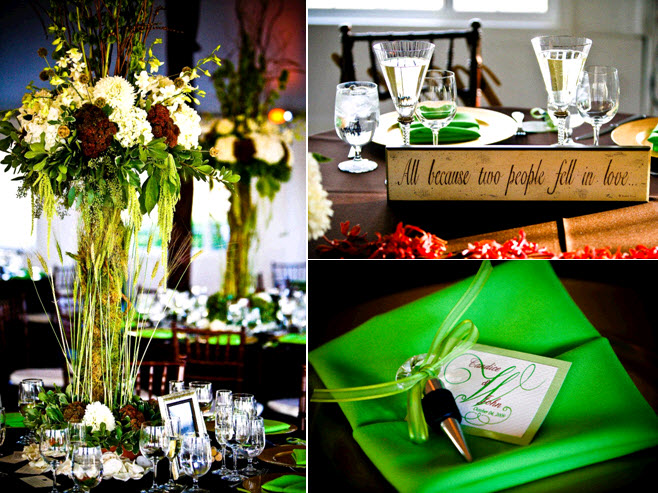 Chic-sophisticated-winery-wedding-high-topiari-wedding-reception-tablescape-ivory-maroon-green.original