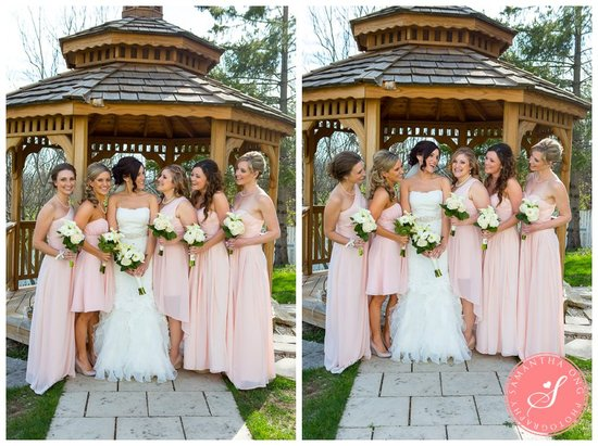 Doctors House Kleinburg Ontario Bridesmaids Wedding Photos