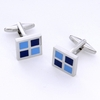 Affordable-fathers-day-gifts-for-father-of-the-bride-blue-square-cufflinks-in-engraved-case.square