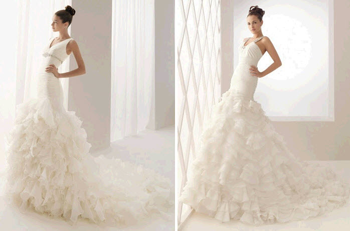Aire-barcelona-white-wedding-dresses-mermaid-silhouette-ruffled-tiers.full