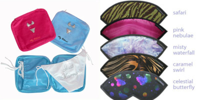 These beautiful eye masks and accessories are perfect for your honeymoon.