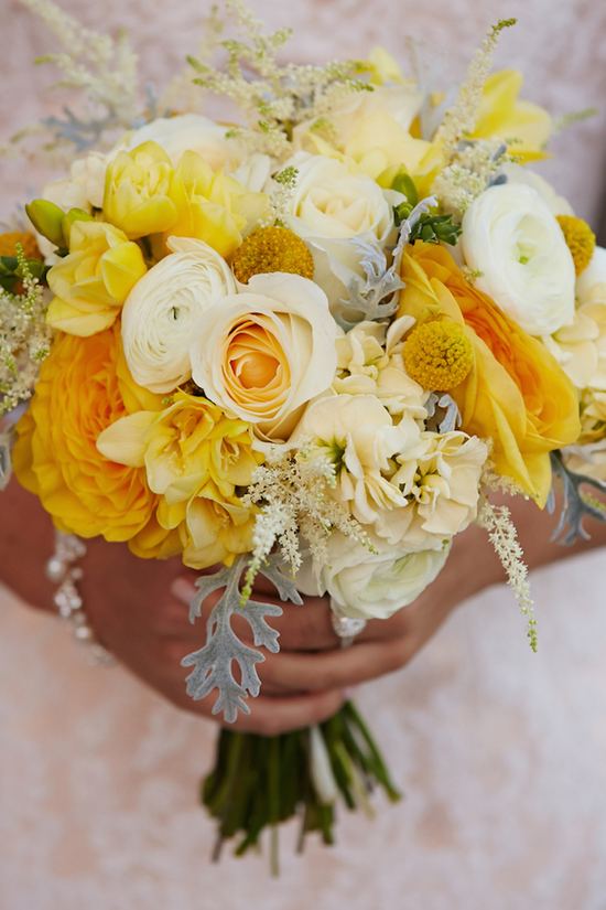 Gorgeous and Cheery Bridal Bouquet