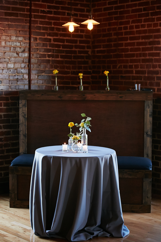 photo of Reception Table Decor