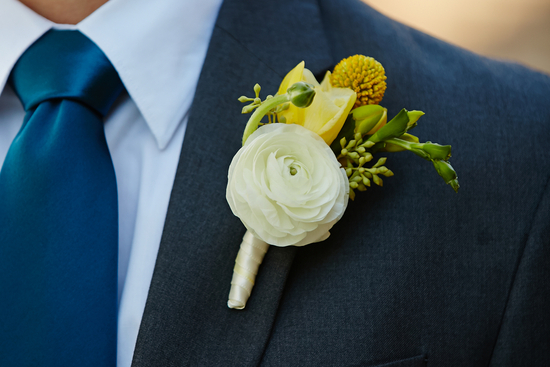 Beautiful Groom Boutonniere