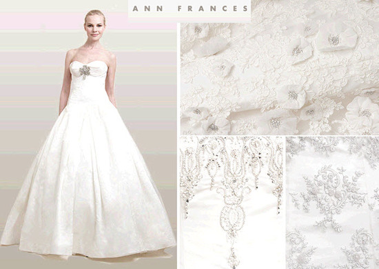 Ann Frances wedding dresses are luxurious and impeccably detailed, perfect for the discerning bride-