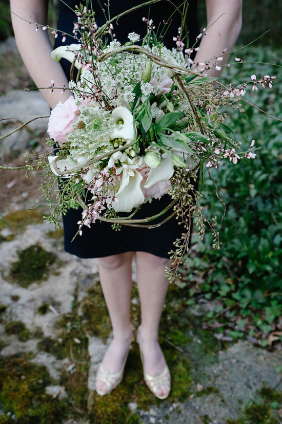 Overgrown Bridesmaid Bouquet