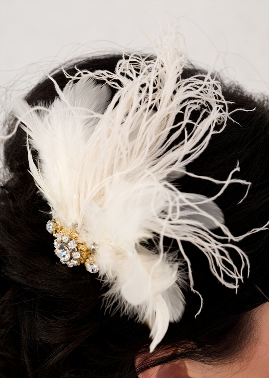 photo of Savvy Steals Giveaway Winner: Vintage-Chic Refashioned Bridal Hair Piece!