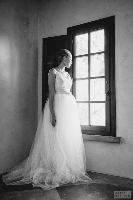 Dreamy Tulle and Lace Wedding Gown