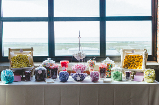 Bright and Colorful Candy Bar