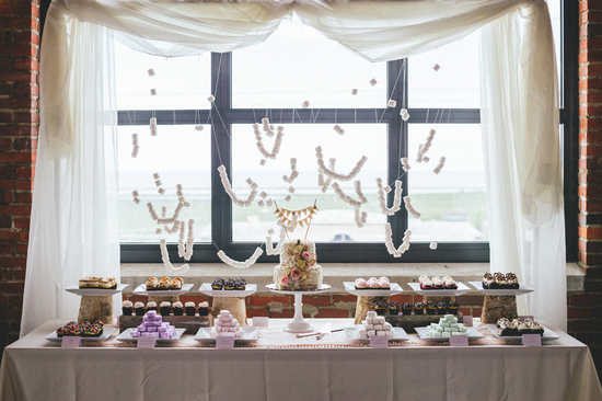 Incredible Dessert Table With Marshmallow Decor