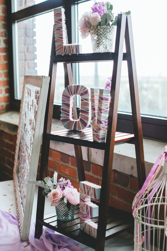Super Cool DIY Reception Decor