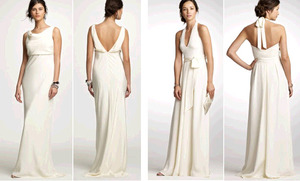 photo of Chic, Simple Wedding Dresses, Bridesmaid Frocks, And Accessories By J-Crew!