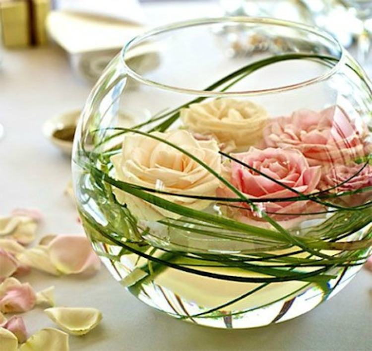Round Vase Centerpiece With Floating Flowers Full Jpg