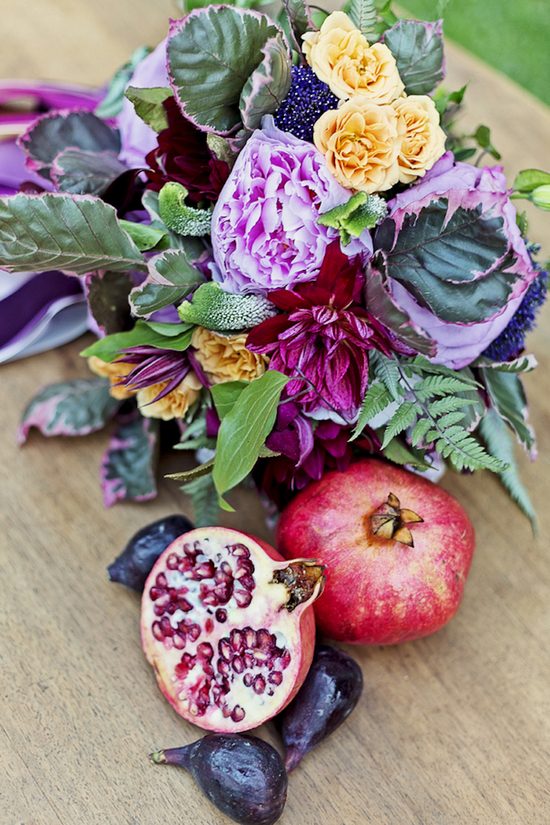 Vibrant Blooms and Beautiful Pomegranates