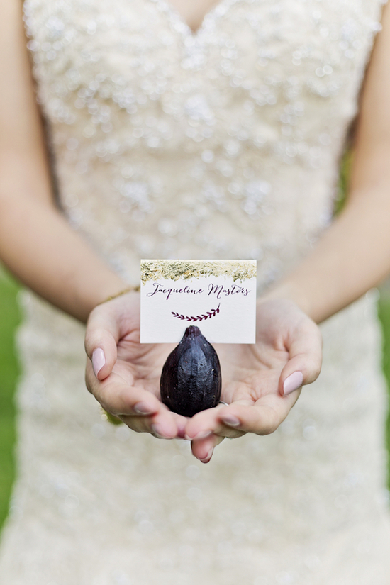 Fig Place Card Holder