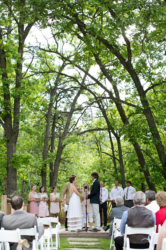 Gorgeous Forest Outdoor Ceremony