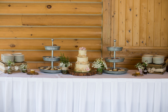Rustic Dessert Table Display