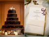 Chocolate-brown-regal-wedding-cake-with-lovebirds-cake-topper.square