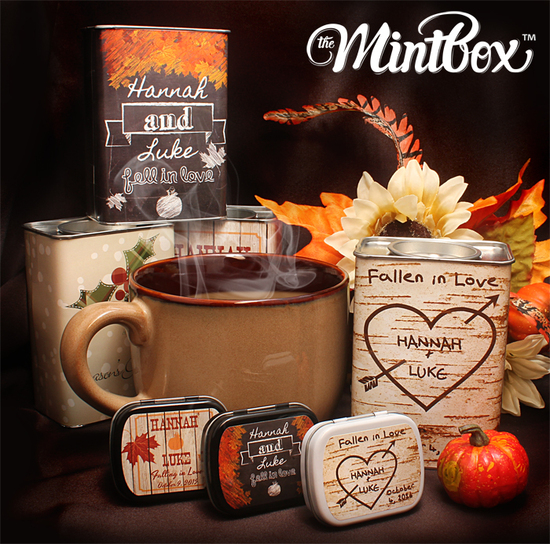 Fall Cocoa Collection and Mint Tins
