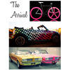 Neon-retro-wedding-inspiration-arrive-in-style-bike-vintage-car.square