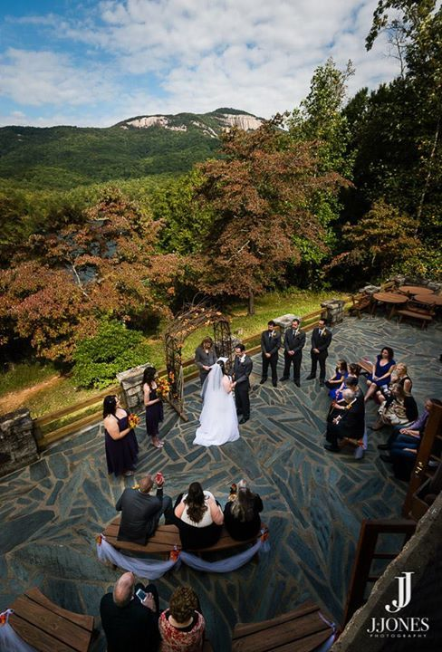 Danielle M Baker -The Wedding Lady Officiant and Minister - Table Rock State Park - Pickens, SC