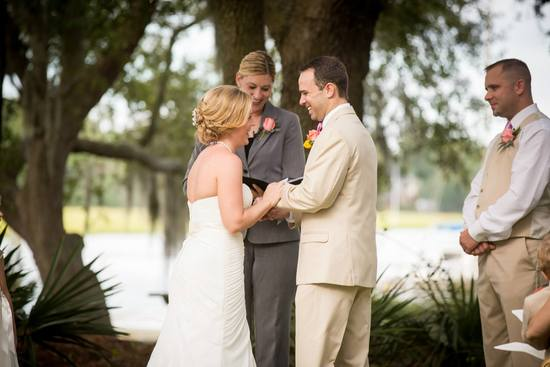 Danielle M Baker -The Wedding Lady Officiant and Minister - Creek Club at Ion - Charleston, SC