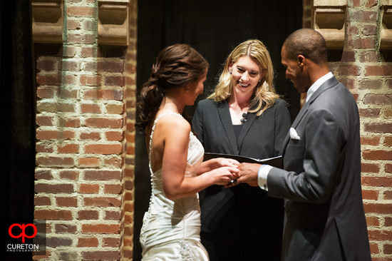 Danielle M Baker -The Wedding Lady Officiant and Minister - Upcountry History Museum - Greenville, SC