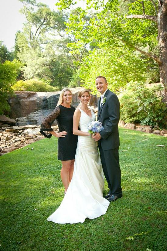 Danielle M Baker -The Wedding Lady Officiant and Minister - Rock Quarry Garden - Greenville, SC