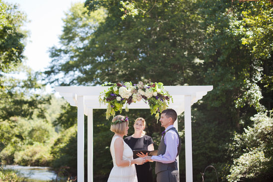 Danielle M Baker -The Wedding Lady Officiant and Minister - Cashiers, NC