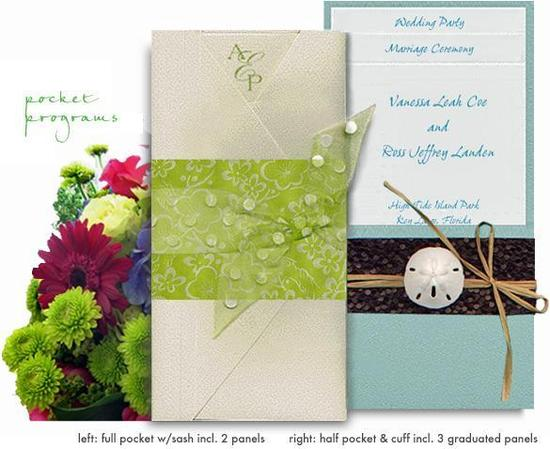 Sustainable and eco-chic wedding invitations and stationery