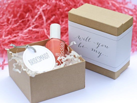 Ask Your Bridesmaid with Nail Polish