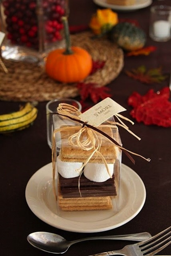 Smore Favors Fall