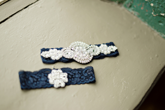 Blue Garters For the Bride