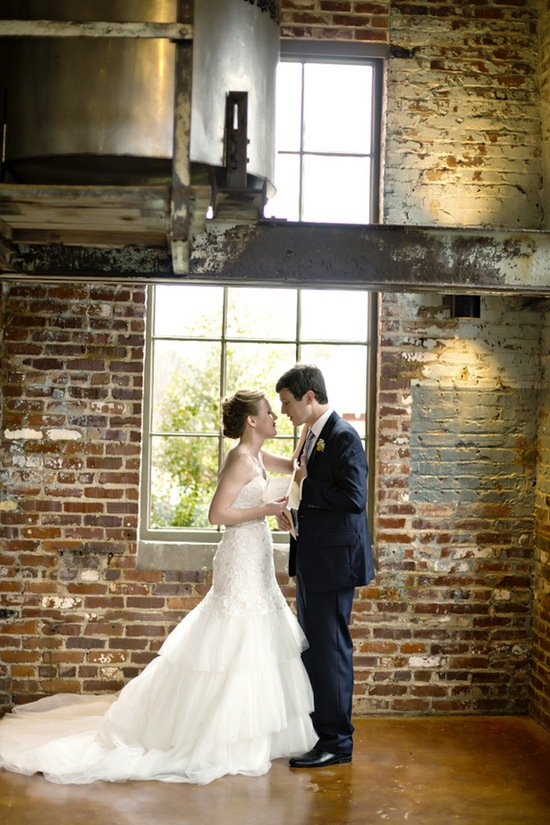 photo of A Beautiful Rainy Day Wedding with a Vintage Twist