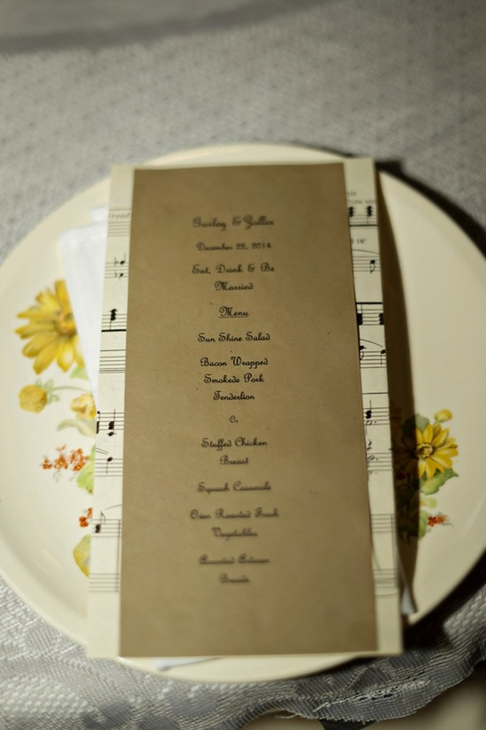 Menu for Dinner for Guests
