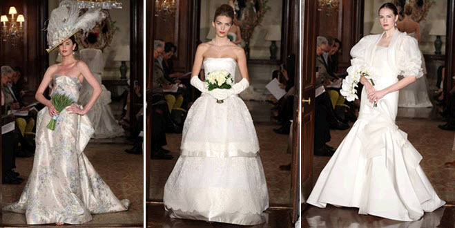 High Fashion Couture Wedding Dresses Dramatic Mermaid Silhouette And Vogue Bridal Headpieces