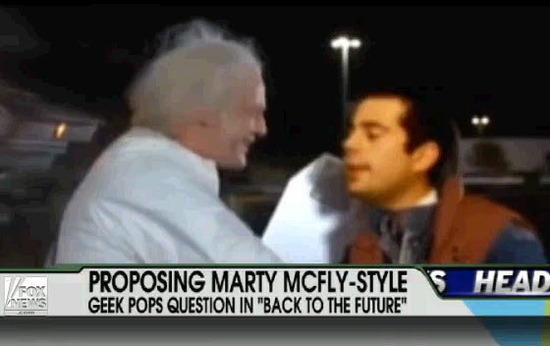 Marty McFlye-Style Proposal!