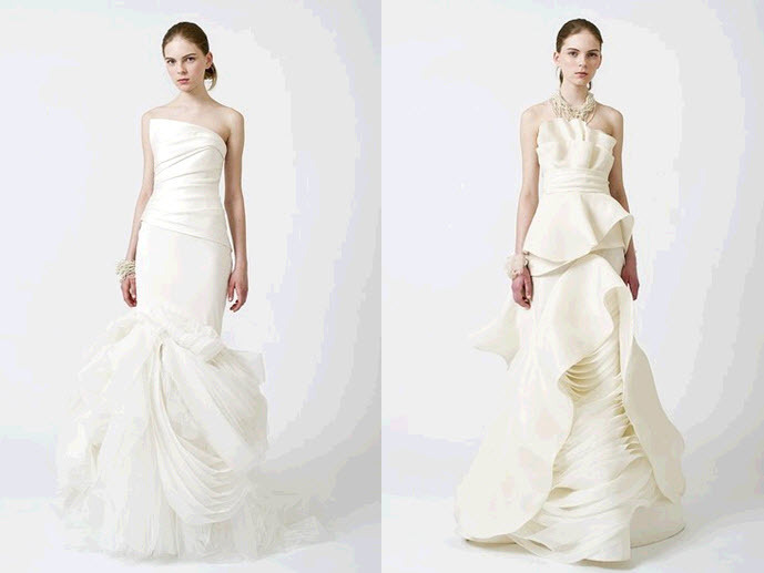 Spring-2011-white-ivory-strapless-vera-wang-wedding-dresses-architectural-layering.full