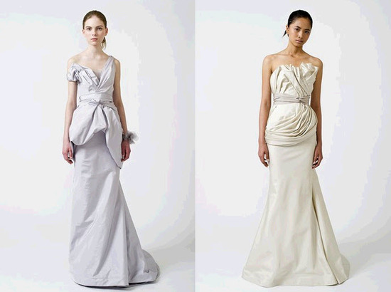 photo of Spring 2011 Vera Wang Wedding Dresses Hot Off The Runway!