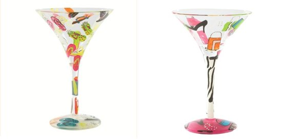 photo of You can choose one of these great martini glasses.