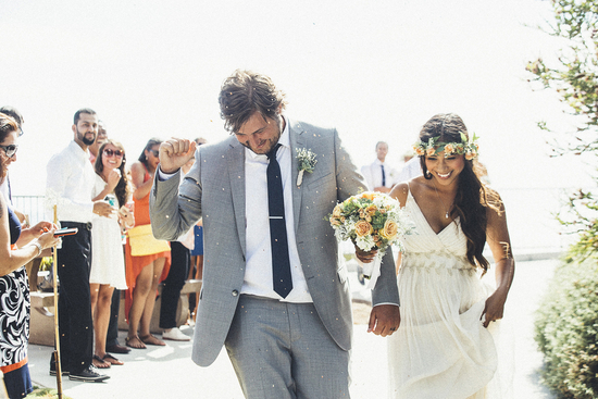 photo of A Perfect Surfer's Paradise DIY Wedding